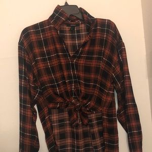 Long-sleeved flannel